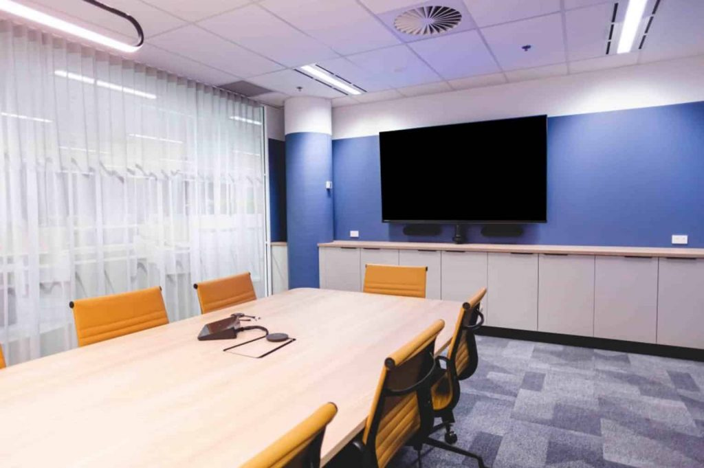 Halyard Boardroom Audio Visual Project Completion