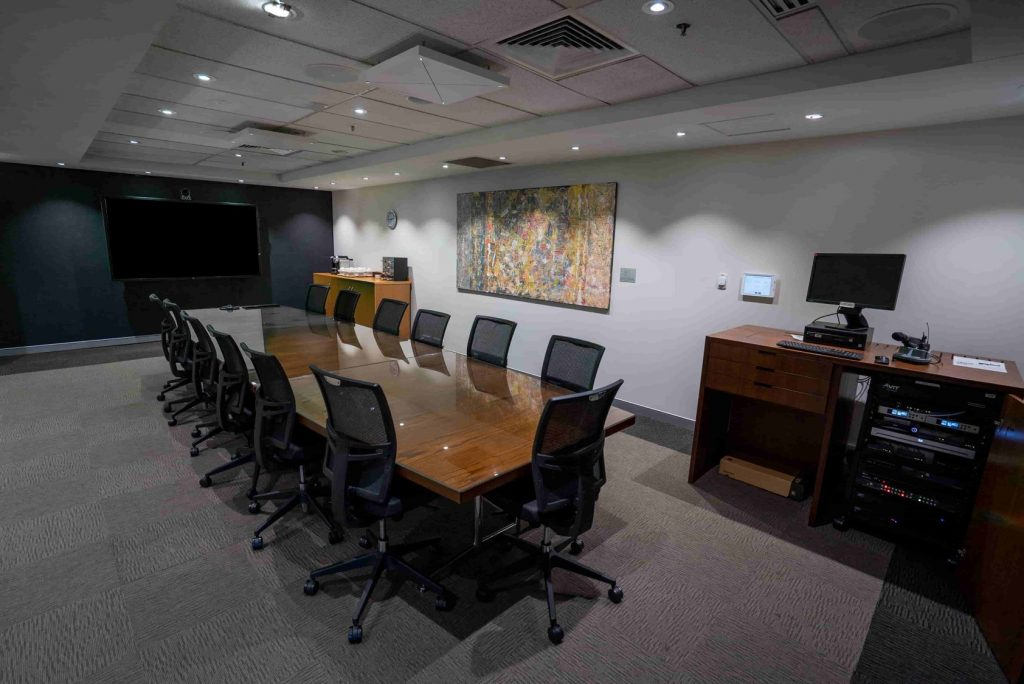 Halyard Boardroom - Audio Visual Portfolio